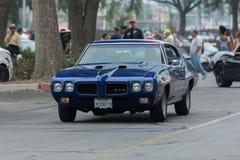 Automobile di Pontiac GTO su esposizione Fotografie Stock