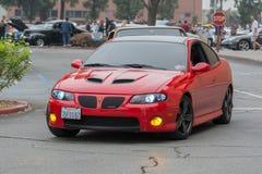 Automobile di Pontiac GTO su esposizione Immagini Stock