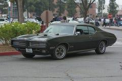 Automobile di Pontiac GTO su esposizione Fotografie Stock Libere da Diritti