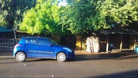 Automobile di primo mattino Fotografie Stock Libere da Diritti