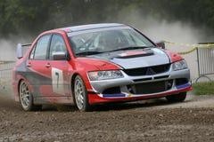 Automobile di raduno del Mitsubishi immagine stock