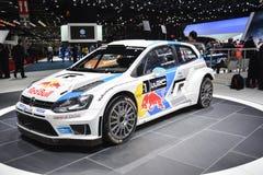 Automobile di raduno del mondo di Volkswagen Polo R WRC Immagine Stock