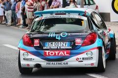 Automobile di raduno di Peugeot fotografia stock libera da diritti