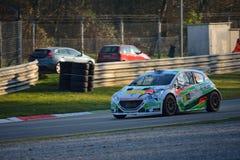 Automobile di raduno di Peugeot 208 a Monza Fotografia Stock Libera da Diritti