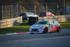 Automobile di raduno di Peugeot 208 a Monza Fotografie Stock