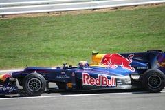 Automobile di Red Bull F1 fotografia stock libera da diritti