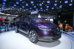 Automobile di Renault Initiale Paris Concept Immagini Stock Libere da Diritti