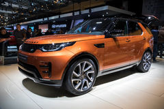 Automobile di Rover Discovery 4x4 SUV della terra Fotografie Stock Libere da Diritti