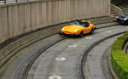 Automobile di scanalatura Fotografia Stock Libera da Diritti