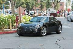 Automobile di solstizio di Pontiac su esposizione Fotografia Stock