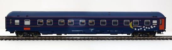 Automobile di sonno della ferrovia Immagini Stock