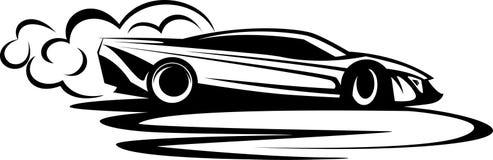 Automobile di spostamento Fotografia Stock