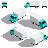 Automobile di trasporto isometry Dettagliare basso isometrico Fotografie Stock