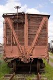 Automobile di treno Fotografie Stock Libere da Diritti