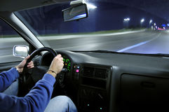 Automobile di velocità Immagini Stock Libere da Diritti