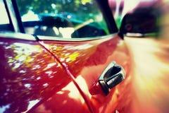 Automobile di velocità Immagine Stock