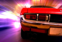 Automobile di velocità Fotografia Stock Libera da Diritti