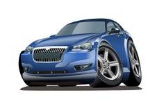 Automobile di vettore del fumetto royalty illustrazione gratis
