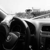 Automobile di viaggio fotografie stock libere da diritti