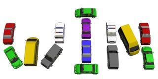 Automobile di vittoria Fotografie Stock
