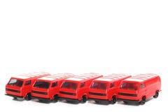 Automobile di VW Van toy delle 5 plastiche Immagine Stock