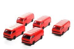 Automobile di VW Van toy delle 5 plastiche Fotografia Stock