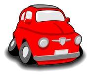 Automobile divertente rossa Immagine Stock Libera da Diritti