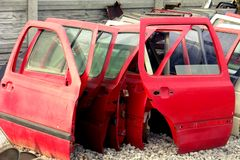 Automobile doors Royalty Free Stock Images
