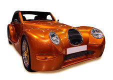 Automobile dorata Immagine Stock Libera da Diritti