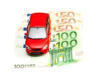 Automobile e soldi Fotografie Stock