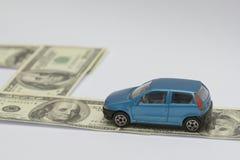 Automobile e tassa Immagini Stock