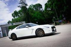Automobile eccellente di Nissan GT-R immagine stock libera da diritti
