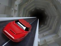Automobile eccellente futuristica Fotografia Stock Libera da Diritti