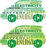 Automobile elettrica Illustrazione di Stock