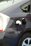 Automobile elettrica al punto della tassa Immagine Stock Libera da Diritti