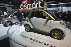 Automobile elettrica astuta dell'azionamento ai 2010 CIAA Immagini Stock Libere da Diritti