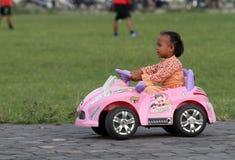 Automobile elettrica del giocattolo Immagine Stock Libera da Diritti