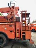 Automobile elettrica del hot line di riparazione Fotografie Stock Libere da Diritti