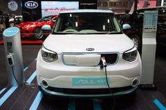 Automobile elettrica di ANIMA EV di KIA fotografie stock libere da diritti