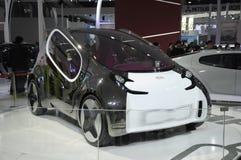 Automobile elettrica di concetto di KIA Fotografia Stock