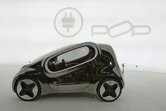 Automobile elettrica di concetto di schiocco di Kia Immagine Stock
