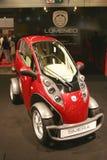 Automobile elettrica di Lumeneo Smera Fotografie Stock