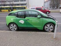 Automobile elettrica di Ubitricity fotografia stock libera da diritti