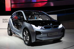 Automobile elettrica i3 di concetto di BMW Fotografia Stock Libera da Diritti