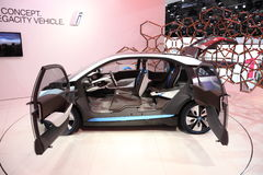 Automobile elettrica i3 di concetto di BMW Immagini Stock Libere da Diritti