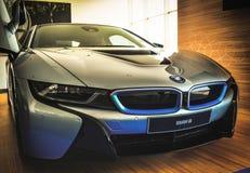 Automobile elettrica ibrida di BMW I8 immagini stock