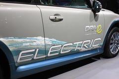 Automobile elettrica pura di Volve c30 EV Fotografie Stock
