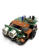 Automobile elettronica di esperimento Immagine Stock