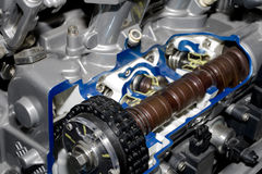 Automobile engine Stock Photo