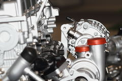 Automobile engine. The local feature of automobile engine Stock Images
